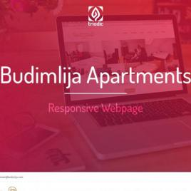 Budimlija apartments webpage